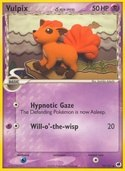 Vulpix δ from ex Dragon Frontiers