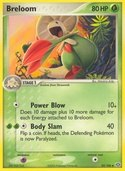 Breloom from ex Emerald