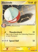 Electrode from ex Emerald