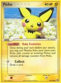 Pichu from ex Emerald