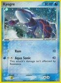 Kyogre from ex Emerald