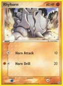 Rhyhorn from ex Emerald