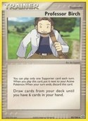 Professor Birch from ex Emerald