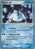 Regice ex from ex Emerald