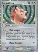 Clefable ex from ex Fire Red - Leaf Green
