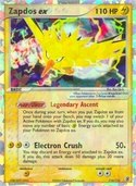 Zapdos ex from ex Fire Red - Leaf Green