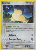 Snorlax from ex Fire Red - Leaf Green