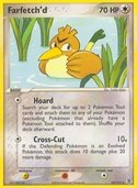 Farfetch'd from ex Fire Red - Leaf Green