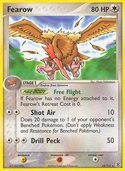 Fearow from ex Fire Red - Leaf Green