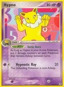 Hypno from ex Fire Red - Leaf Green