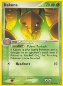 Kakuna from ex Fire Red - Leaf Green