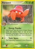 Parasect from ex Fire Red - Leaf Green