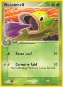 Weepinbell from ex Fire Red - Leaf Green