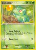 Bulbasaur from ex Fire Red - Leaf Green