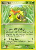 Caterpie from ex Fire Red - Leaf Green