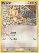 Meowth from ex Fire Red - Leaf Green