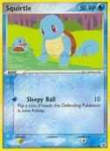 Squirtle from ex Fire Red - Leaf Green