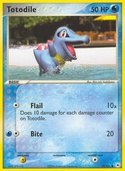 Totodile from ex Hidden Legends