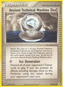 Ancient Technical Machine Ice from ex Hidden Legends