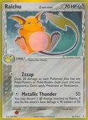 Raichu from ex Holon Phantoms