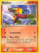 Blaziken from ex Holon Phantoms
