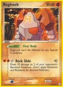Regirock from ex Holon Phantoms