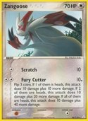 Zangoose from ex Holon Phantoms