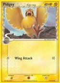 Pidgey from ex Holon Phantoms