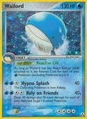 Wailord from ex Legend Maker