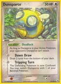 Dunsparce from ex Legend Maker