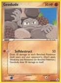Geodude from ex Legend Maker