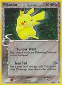 Pikachu from ex Legend Maker