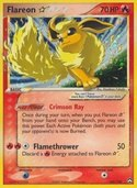 Flareon Star from ex Power Keepers