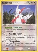 Zangoose from ex Power Keepers