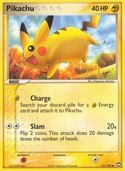 Pikachu from ex Power Keepers