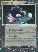 Sneasel ex from ex Ruby Sapphire