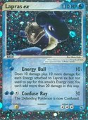 Lapras ex from ex Ruby Sapphire