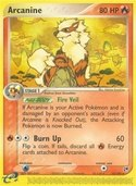 Arcanine from ex Sandstorm