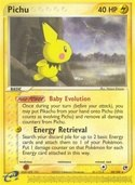 Pichu from ex Sandstorm