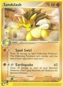 Sandslash from ex Sandstorm