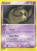 Duskull from ex Sandstorm