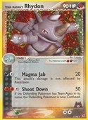 Team Magma's Rhydon from ex Team Magma vs Aqua
