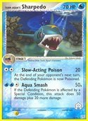 Team Aqua's Sharpedo from ex Team Magma vs Aqua