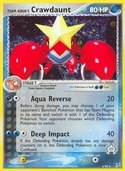 Team Aqua's Crawdaunt from ex Team Magma vs Aqua