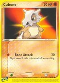 Cubone from ex Team Magma vs Aqua