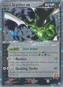 Rocket's Scyther ex from ex Team Rocket Returns
