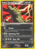 Dark Tyranitar from ex Team Rocket Returns