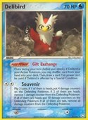 Delibird from ex Team Rocket Returns