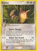 Furret from ex Team Rocket Returns
