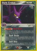 Dark Crobat from ex Team Rocket Returns